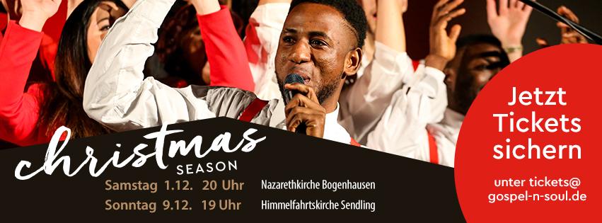 Gospel'n'Soul - der Münchner Gospel Chor